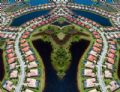 """New Florida"" This mirrored aerial view of The Venetian Community in Venice, Florida shows the aesthetic of modern Floridian living. Neatly developed houses and streets, and a myriad of swimming pools, coexist with retention ponds and small marshes."